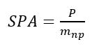 Equation for Specific Power Absorption